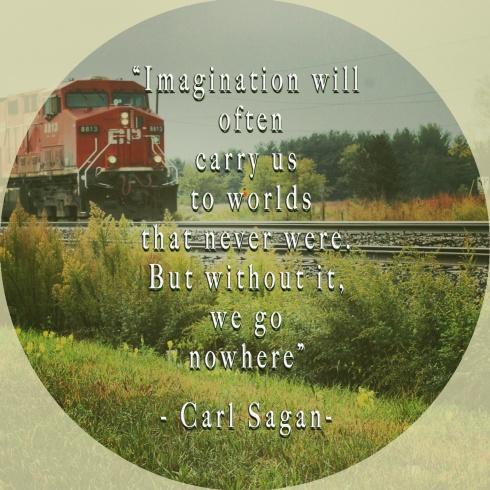Imagination Station-Carl Sagan Quote