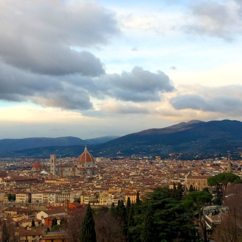 View from Piazzale Michelangelo, Firenze, Italy